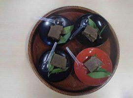 高知県のカシ豆腐